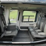 Bell 206L3 interior seating configuration