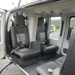 Bell 206L3 interior seating