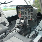 Bell 206L3 front interior