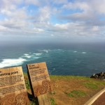 Meeting of the two seas at Cape Reinga