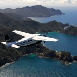 Flying near Whangaroa Harbour, East Coast of Northland