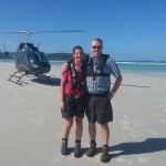 VIP Heli Tour beach landing