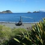 R44 on beach